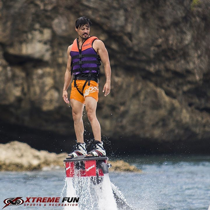 Flyboard pinched from Xtreme Fun Sports and Recreation's Facebook page