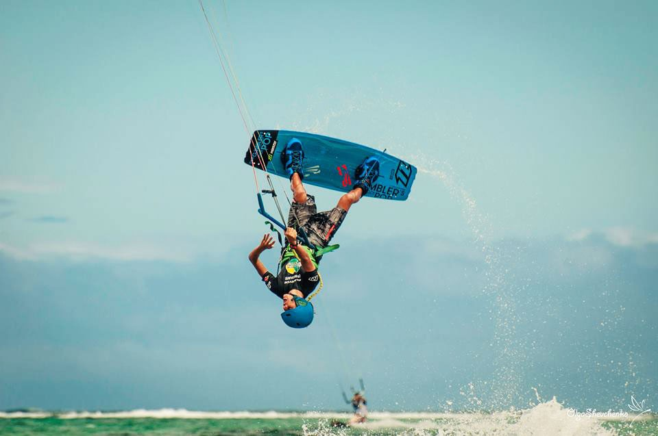 Kiteboarding piched from the Facebook page of Boracay Funboard Cup