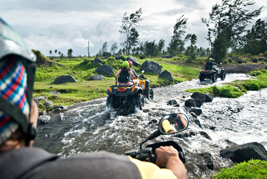 ATV ride up Mt. Mayon. By Christian Sangoyo