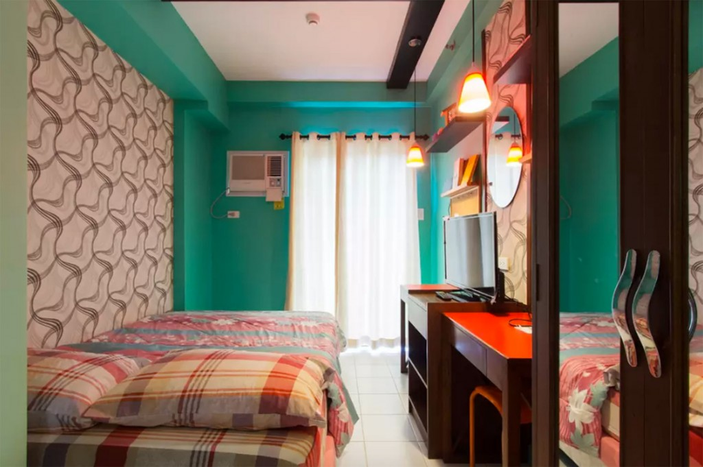 Studio in Camella Davao City. Screengrabbed from Airbnb