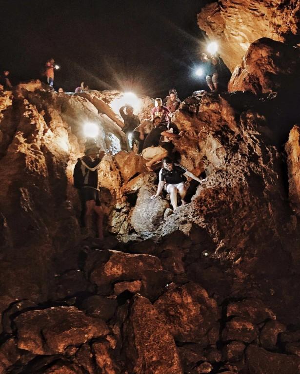 Sumaguing Cave in Sagada. Screengrab from @tonydagreat