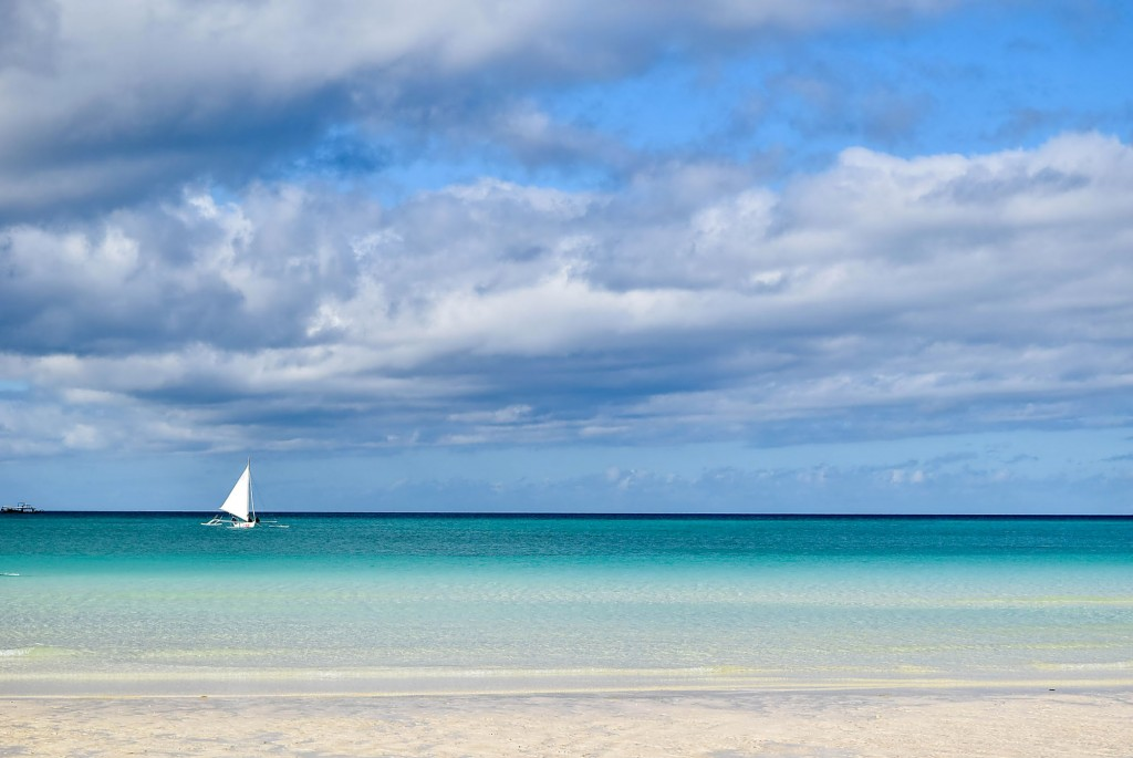 White Beach in Boracay. Photo by Jack Jarilla