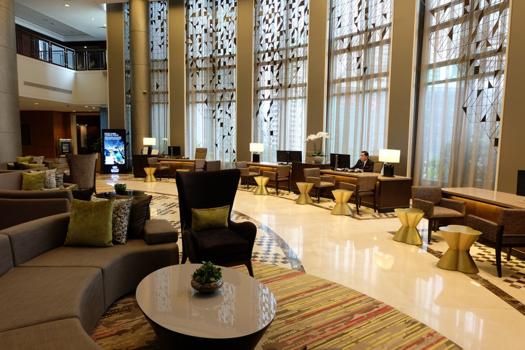 Ascott Makati lobby on the 6th floor