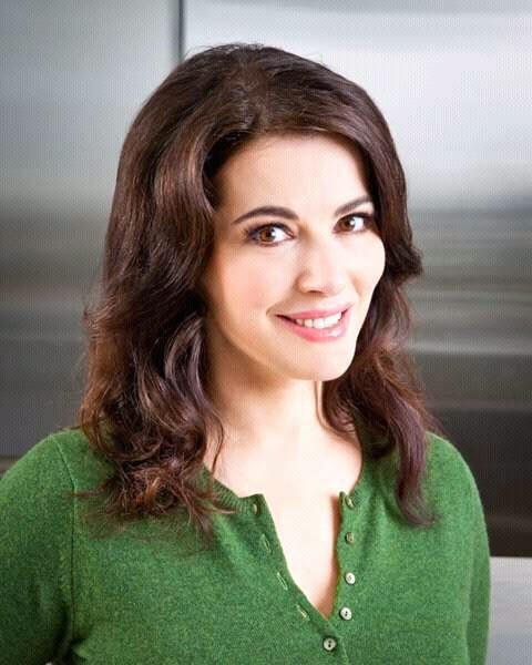 Photo is a screengrab from Nigella Lawson's Facebook page