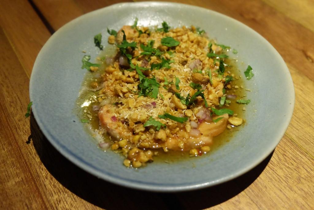 Aburi (torched salmon ceviche)