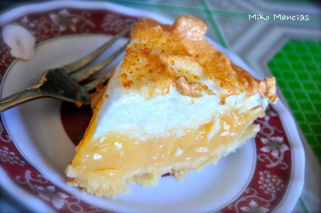 Lemon pie at Sagada Coop Canteen. Photo is a screengrab from Misty Lodge and Cafe Facebook page