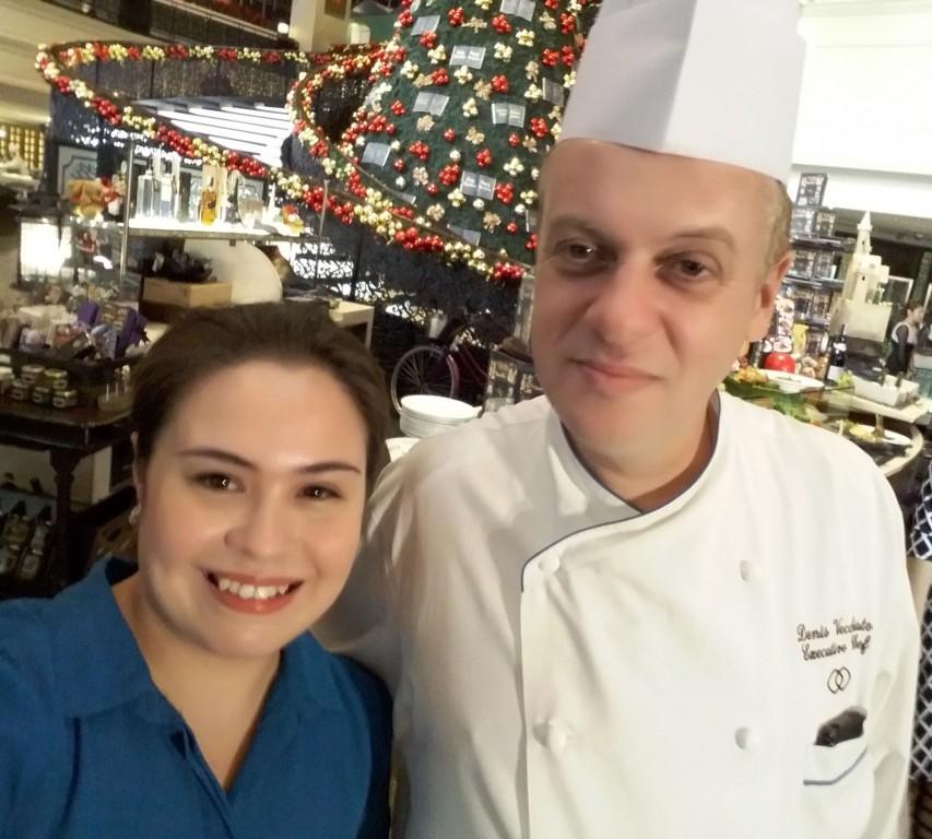 With chef Vecchiato.