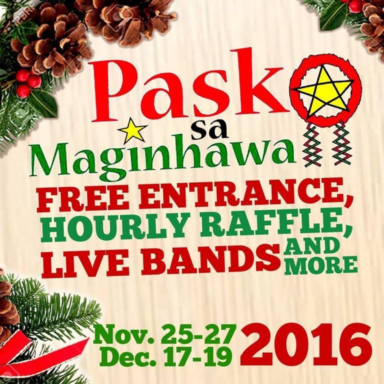 Photo from Pasko sa Maginhawa Facebook page