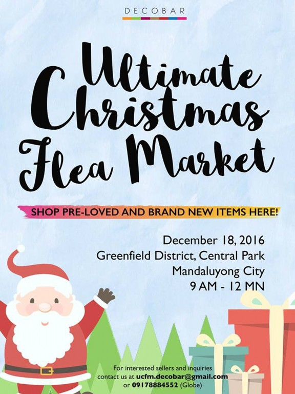 Photo from Ultimate Christmas Flea Market Facebook event