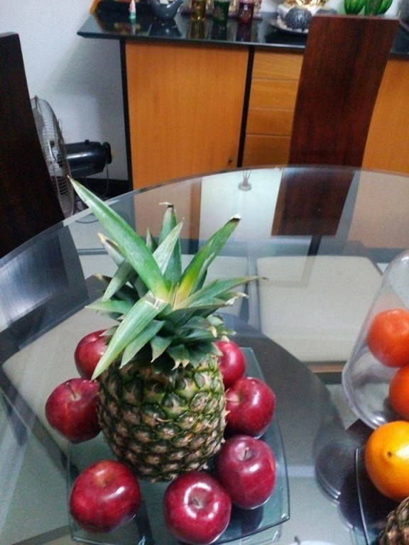 Pineapple surrounded by eight sweet fruits imbibes prosperity according to Feng shui master Aldric Dalumpines