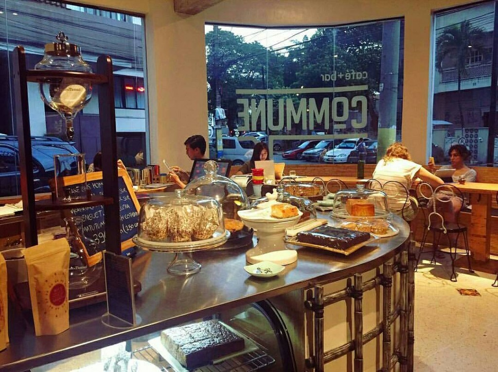 Commune in hip Poblacion, Makati screams chill. Screengrabbed from @communeph