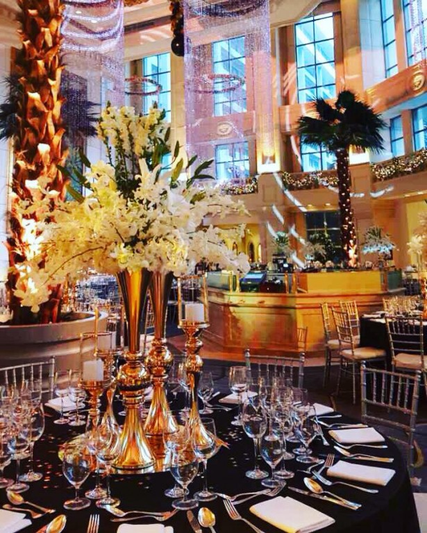 Lobby lounge. Screengrab from The Peninsula Manila Facebook page