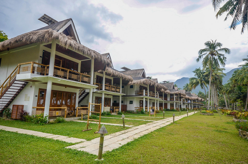 Daluyong Beach and Mountain Resort's beachfront cottages