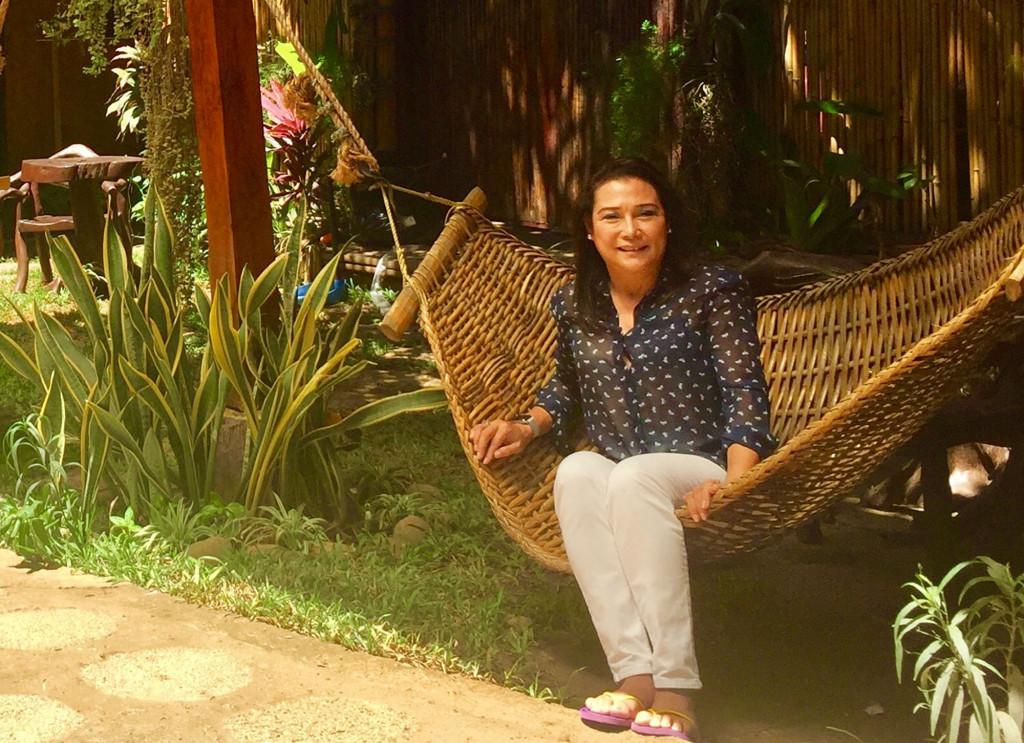 Tan photographed at Puerto Pension Inn in Puerto Princesa