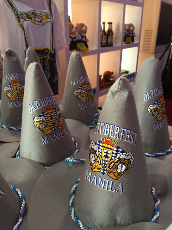 Cute Oktoberfest hats that will be sold at Spiral To Go during the two-day fest